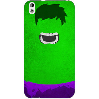 EYP Superheroes Hulk Back Cover Case For HTC Desire 816