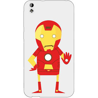 EYP Superheroes Iron Man Back Cover Case For HTC Desire 816
