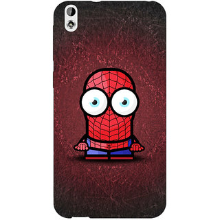 EYP Big Eyed Superheroes Spiderman Back Cover Case For HTC Desire 816 Dual Sim