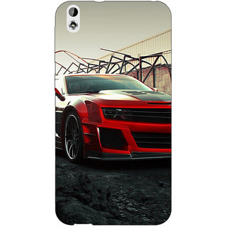 EYP Super Car Mustang Back Cover Case For HTC Desire 816