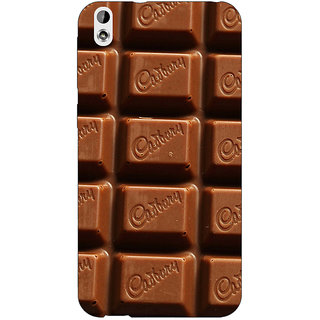 EYP Dairymilk Love Back Cover Case For HTC Desire 816 Dual Sim