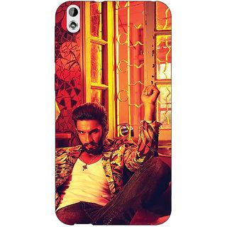 EYP Bollywood Superstar Ranveer Singh Back Cover Case For HTC Desire 816