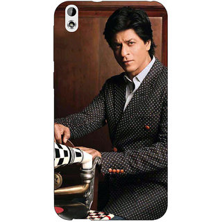 EYP Bollywood Superstar Shahrukh Khan Back Cover Case For HTC Desire 816 Dual Sim