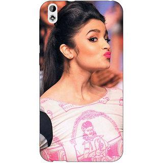 EYP Bollywood Superstar Alia Bhatt Back Cover Case For HTC Desire 816 Dual Sim