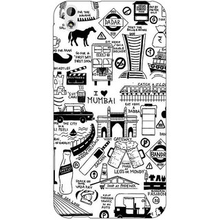 EYP Aamchi Mumbai Back Cover Case For HTC Desire 816
