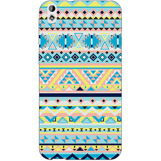 EYP Aztec Girly Tribal Back Cover Case For HTC Desire 816G