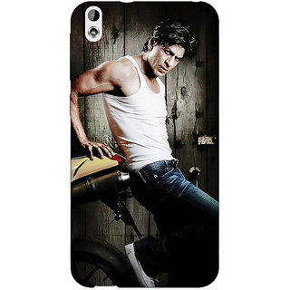 EYP Bollywood Superstar Shahrukh Khan Back Cover Case For HTC Desire 816G