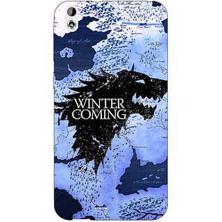 EYP Game Of Thrones GOT House Stark  Back Cover Case For HTC Desire 816G