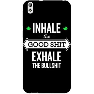 EYP Weed Quotes Back Cover Case For HTC Desire 816G
