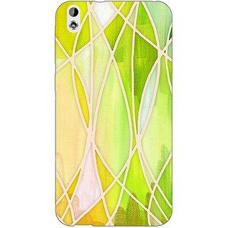 EYP Designer Geometry Pattern Back Cover Case For HTC Desire 816G