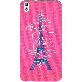 EYP Paris Love Back Cover Case For HTC Desire 816G