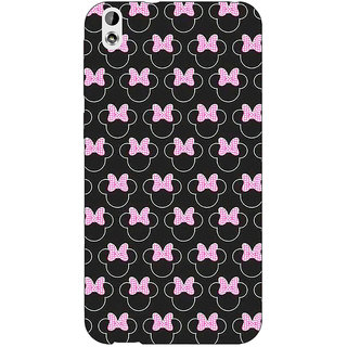 EYP Minnie Mouse Pattern Back Cover Case For HTC Desire 816G