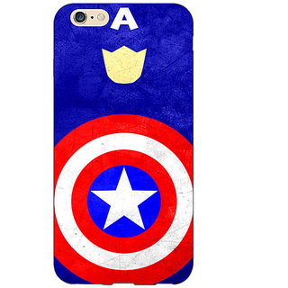 EYP Superheroes Captain America Back Cover Case For Apple iPhone 6S