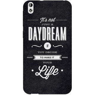 EYP Quote Back Cover Case For HTC Desire 816G