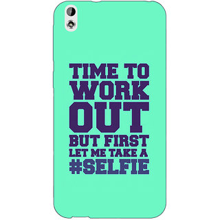 EYP Selfie Quote Back Cover Case For HTC Desire 816G