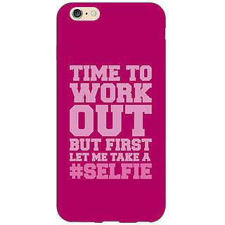 EYP Selfie Quote Back Cover Case For Apple iPhone 6S