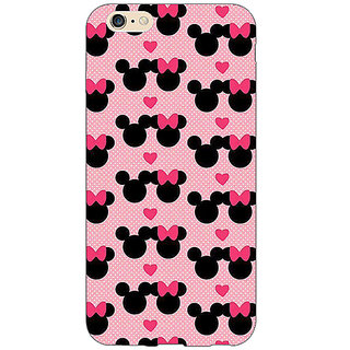 EYP Mickey Minnie Mouse Back Cover Case For Apple iPhone 6S