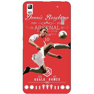 EYP Arsenal Dennis Bergkamp Back Cover Case For Lenovo K3 Note