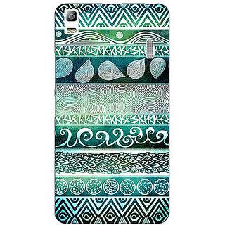 EYP Aztec Girly Tribal Back Cover Case For Lenovo K3 Note