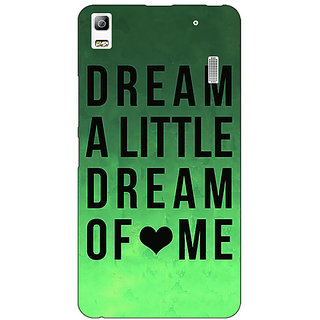 EYP Dream Love Back Cover Case For Lenovo K3 Note
