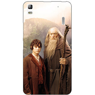 EYP LOTR Hobbit Gandalf Frodo Back Cover Case For Lenovo K3 Note