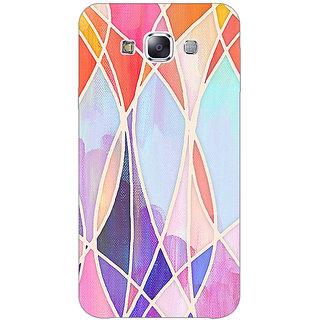 EYP Designer Geometry Pattern Back Cover Case For Samsung Galaxy J3