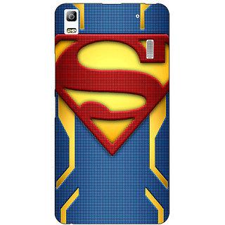 EYP Superheroes Superman Back Cover Case For Lenovo K3 Note