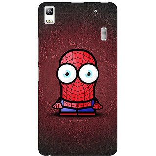EYP Big Eyed Superheroes Spiderman Back Cover Case For Lenovo K3 Note