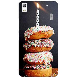 EYP Donut Birthday Back Cover Case For Lenovo K3 Note