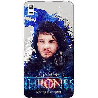 EYP Game Of Thrones GOT Jon Snow House Stark Back Cover Case For Lenovo K3 Note