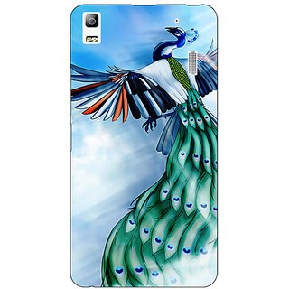 EYP Paisley Beautiful Peacock Back Cover Case For Lenovo K3 Note