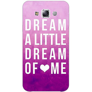 EYP Dream Love Back Cover Case For Samsung Galaxy J5