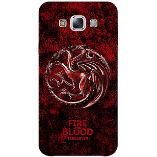 EYP Game Of Thrones GOT House Targaryen  Back Cover Case For Samsung Galaxy J5