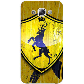EYP Game Of Thrones GOT House Baratheon  Back Cover Case For Samsung Galaxy J5
