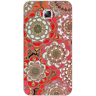 EYP Orange Flowers Pattern Back Cover Case For Samsung Galaxy J5