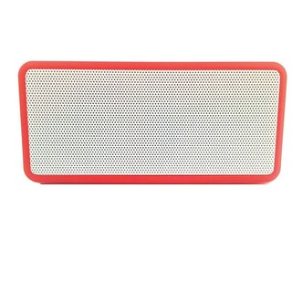 Sonilex Bluetooth portable Speaker With Digital Sound By brandedking(RED)