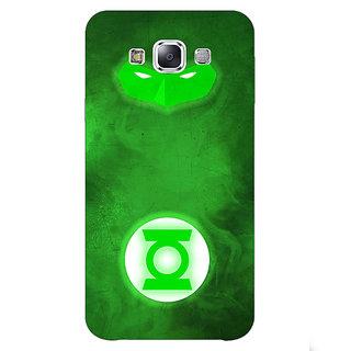 EYP Superheroes Green Lantern Back Cover Case For Samsung Galaxy J5