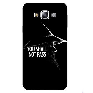 EYP LOTR Hobbit Gandalf Back Cover Case For Samsung Galaxy J5