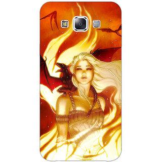 EYP Game Of Thrones GOT House Targaryen  Back Cover Case For Samsung Galaxy J7