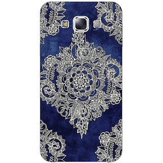 EYP Vintage Luxury Pattern Back Cover Case For Samsung Galaxy J7