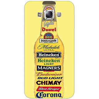 EYP Beer Bottle Back Cover Case For Samsung Galaxy J5