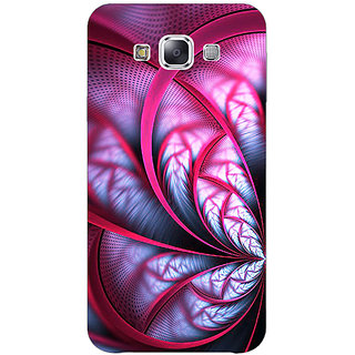EYP Abstract Flower Pattern Back Cover Case For Samsung Galaxy J5