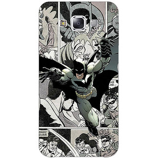 EYP Batman Comic Back Cover Case For Samsung Galaxy J7