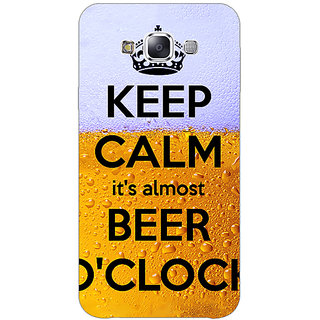 EYP Beer Quote Back Cover Case For Samsung Galaxy J7
