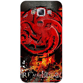 EYP Game Of Thrones GOT Targaryen Back Cover Case For Samsung Galaxy J7