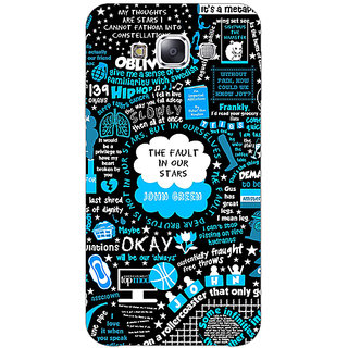 EYP TFIOS Fancy  Back Cover Case For Samsung Galaxy On7