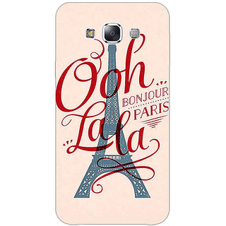 EYP Quotes Paris Back Cover Case For Samsung Galaxy On5