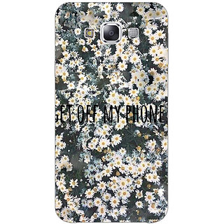 EYP Floral Pattern Back Cover Case For Samsung Galaxy On5