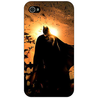 Enhance Your Phone Superheroes Batman Dark knight Back Cover Case For Apple iPhone 4 E10005