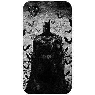 Enhance Your Phone Superheroes Batman Dark knight Back Cover Case For Apple iPhone 4 E10008